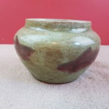 Alte chinesische Porzellan Gefäß Craquelure Porzellan glasiert Fische Motiv