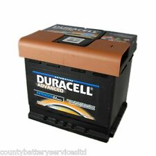 Type 027 600CCA Sealed OEM Replacement Duracell Advanced Car Battery 12V 63Ah