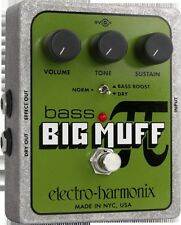 EHX Electro Harmonix Bass Big Muff Pi Distortion Sustain Pedal