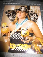 KIM CATTRALL SIGNED AUTOGRAPH 8x10 SEX AND THE CITY E