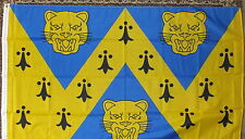 Shropshire Official Flag English Salops Shrewsbury Sports Heraldic Historic 5x3