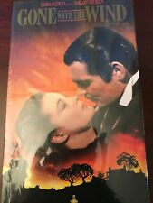 Gone with The Wind VHS 2 Tape Set Sealed In Package