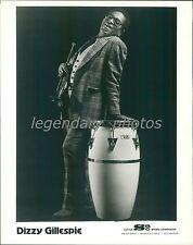 Portrait of Musician Dizzy Gillespie Original News Service Photo