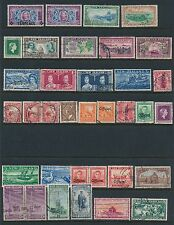 1926 - 1958 New Zealand 50+ STAMPS AS SHOWN; MOSTLY USED; CV $65