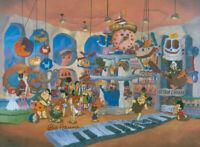 Hanna Barbera-FAO Quartz- Limited Edition Cel Signed By Hanna and Barbera