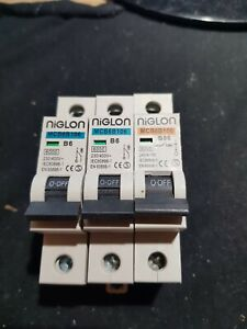 NIGLON MCB6B106 B6 6A B06