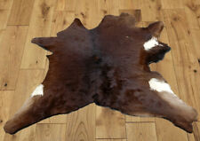 "C Grade Calfhide Rugs Area Cow Skin Leather Cowhide ULG 45472 (29"" X 31"" )"