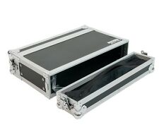 "OSP 2 Space 10"" Deep ATA Effects Rack Road Case with Storage in Lids"