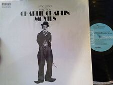 LP Living Strings Play Music From Charlie Chaplin Movies RCA Dynaflex in shrink
