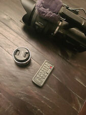Working Sony Handycam E-Mount Nex-Vg30 Camcorder w/ Lenses Case and Accessories