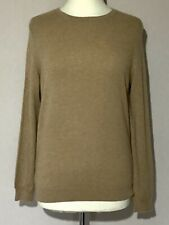 Autograph Pure Cashmere Beige Camel Ladies Jumper 12/M Soft Warm Classic Smart