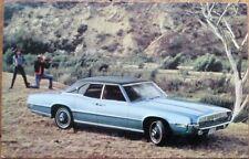 Ford Thunderbird 4-Door Landau 1969 Chrome Car Advertising Postcard