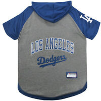 Los Angeles Dodgers MLB Sporty Dog Pet Hoodie T-Shirt Sizes XS-L