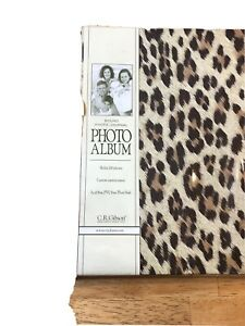 C.R. Gibson 4x6Photo Album Journal Holds 200 Pictures Stories Cherished Memories