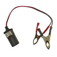12v Auxiliary Car Batter Terminal Clip Power Socket Adaptor Cigarette Lighter