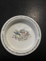 "Wedgwood Peter Rabbit Bowl Dish, 6 1/2"" Diameter x 1 1/2"" High"