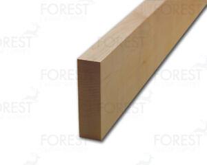 Quarter sawn guitar neck blank american hard maple 720x100x27 < 29 mm