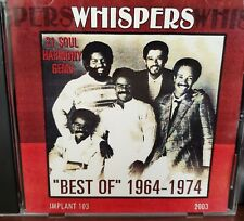The Whispers Best Of CD 1964 - 1974 Soul Ballads And Grooves