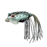 Large Frog Topwater Soft Fishing Lure Crankbait Fake Bass Hooks Tackle Hot M4V8