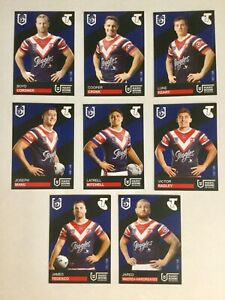 2019 NRL MAGIC ROUND TRADING CARDS – SYDNEY ROOSTERS COMPLETE TEAM SET