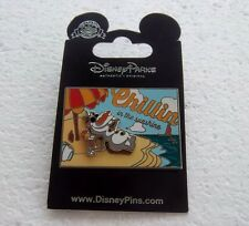 *~*DISNEY FROZEN OLAF CHILLIN IN THE SUNSHINE 3D PIN NEW*~*