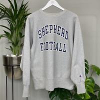 Vintage Champion Reverse Weave USA College Sweatshirt - Shepherd Football