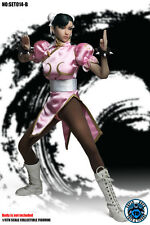 SUPER DUCK 1/6 STREET FIGHTER Chun-Li Head B Sculpt Suit Set For Phicen pre-orde