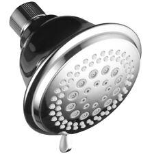 DreamSpa Premium Chrome 4-Inch High-Power Ultra-Luxury 7-Setting Shower-Head