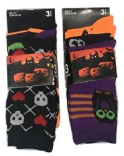 Pack of 4 pairs Halloween Frankenstein Witch Dracula Pirate Casual Socks