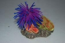 Décorations violets corail artificiel pour aquarium, bassin et mare