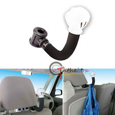 (1) Universal Car Seat Headrest Arm Hanger Hook for Bag Purse Cloth Mickey Mouse