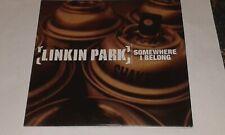 linkin park somewhere i belong cd single promo
