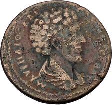 ANTONINUS PIUS & MARCUS AURELIUS Cyprus Mint LARGE Ancient Roman Coin i46372