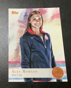 Alex Morgan 2012 Topps Olympic BRONZE Medal Parallel #90 USWNT