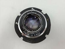 Wollensak Raptar 162mm F4.5 Lens Rapax Shutter - Graflex 4x5 Large Format Camera