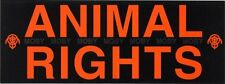 Moby Animal Rights Promo sticker