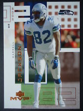 NFL 213 Darrell Jackson Seattle Seahawks Upper Deck MVP 2002