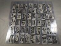 1937 JOHN SINCLAIR FILM STARS REAL PHOTOS NO 55-108 SERIES 2 COMPLETE SET NM