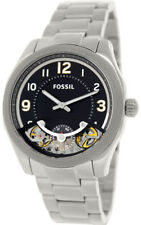 FOSSIL ME1149 FOREMAN METAL STAINLESS STEEL CASE BRACELET AUTOMATIC RARE