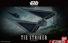 Tie Striker Star Wars Rogue One Scale 1/72 Plastic Model Kit Bandai Japan