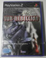 NEUF - jeu SUB REBELLION sur playstation 2 sony PS2 sous marin guerre irem NEW