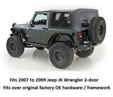 Jeep Replacement Soft Top w/ Tinted Windows for 07-09 Jeep JK Wrangler 2-door