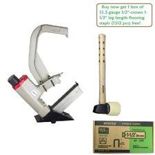 Meite Mfs50 155 Ga Pneumatic Engineering Hardwood Flooring Stapler With Mallet