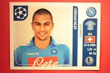 PANINI CHAMPIONS LEAGUE 2011/12 N 65 INLER NAPOLI WITH BLACK BACK MINT!!