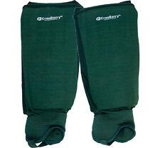 CranBarry Field Hockey Shin Guards Adult Dark Green Protective Sports Gear