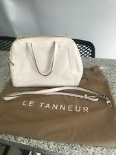 sac à main blanc été cuir de vachette femme de marque LE TANNEUR