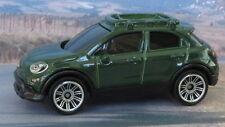 FIAT 500X  2016 1:64 (Dark Green) Matchbox MIP Passenger Diecast Car Sealed