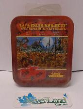 Games-Workshop Warhammer Fantasy Scatola Metallo Damage Dice 65-07 / DADI Set C