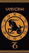 Serviette de plage Drap de bain Signe du Zodiaque astrologique Capricorne