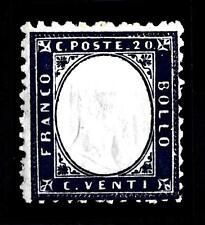 ITALIA - Regno - 1862 - Effigie di Vittorio Emanuele II. Tipo Matraire - 20 cent